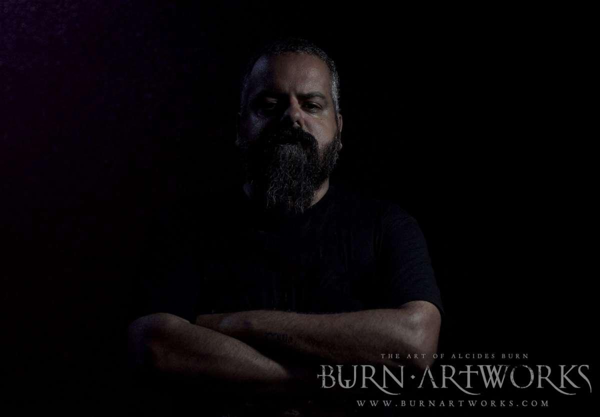 ALCIDES BURN: Confira os recentes trabalhos do artista para as bandas Paradise In Flames e Kaos