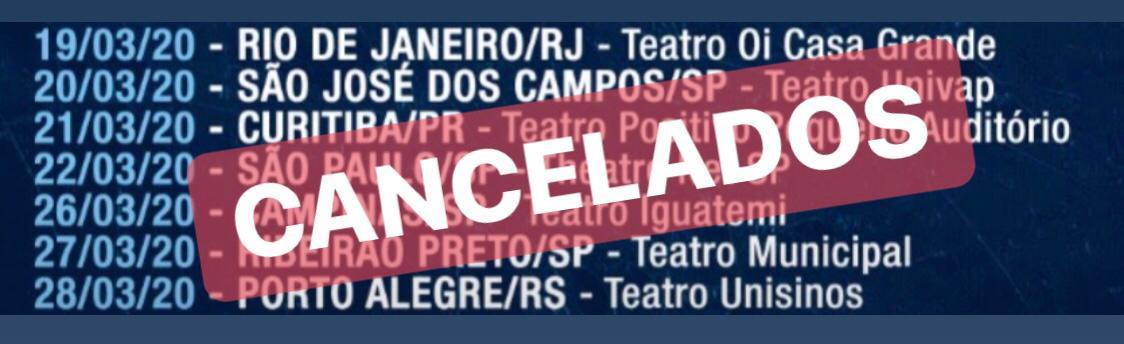 """Edu Falaschi cancela shows da """"Moonlight Celebration"""" em virtude do Coronavírus"""