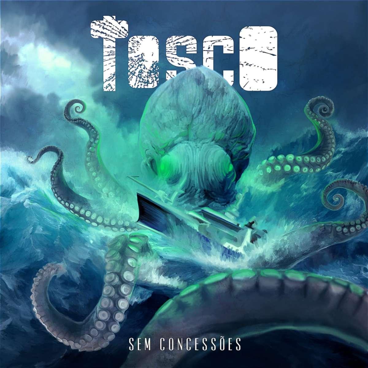 Tosco: Banda divulga capa e informações de seu segundo álbum.