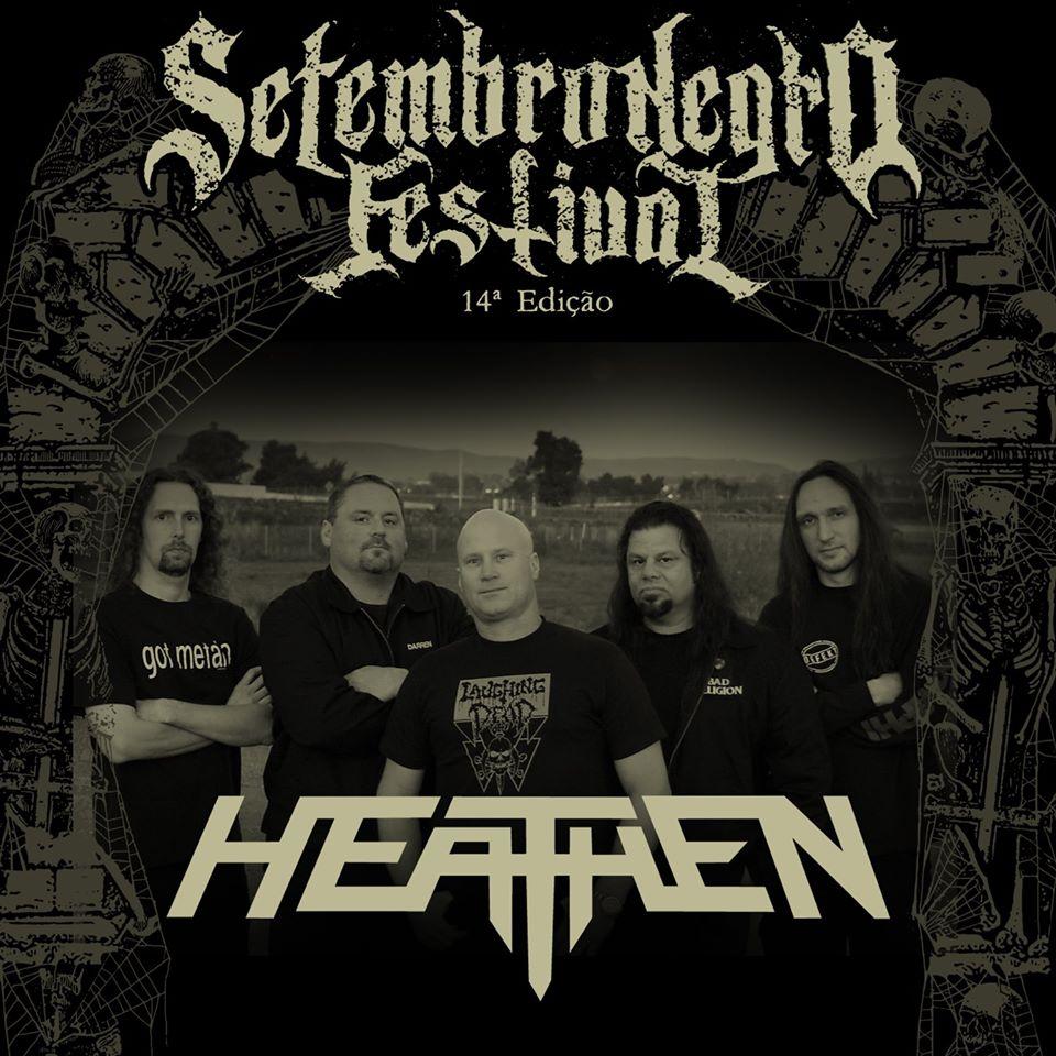 Heathen: Lenda do Thrash Metal norte americano pela primeira vez no Brasil no Setembro Negro 2020