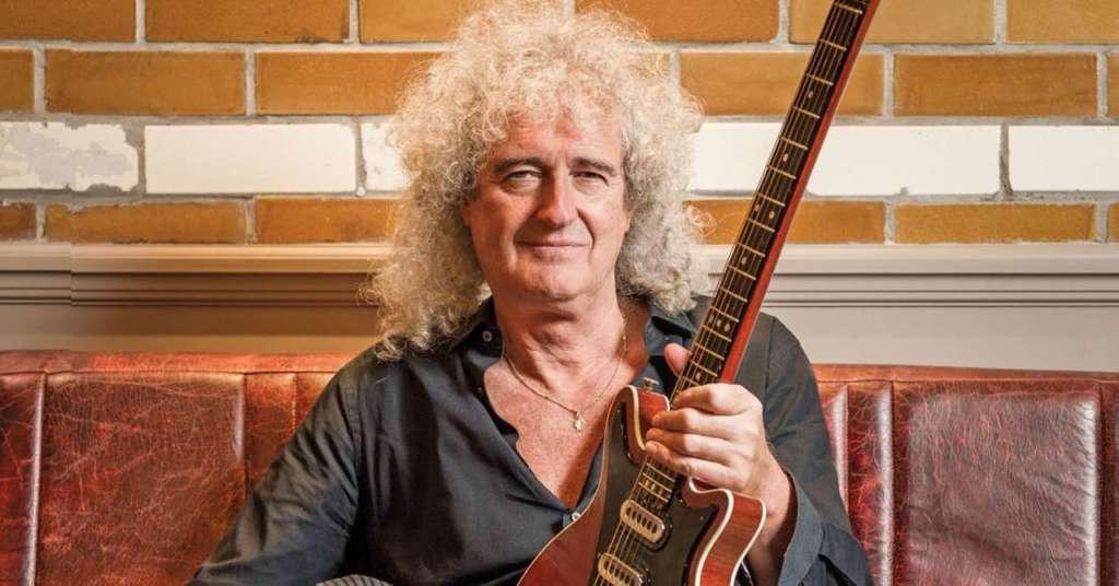 Brian May guitarrista queen