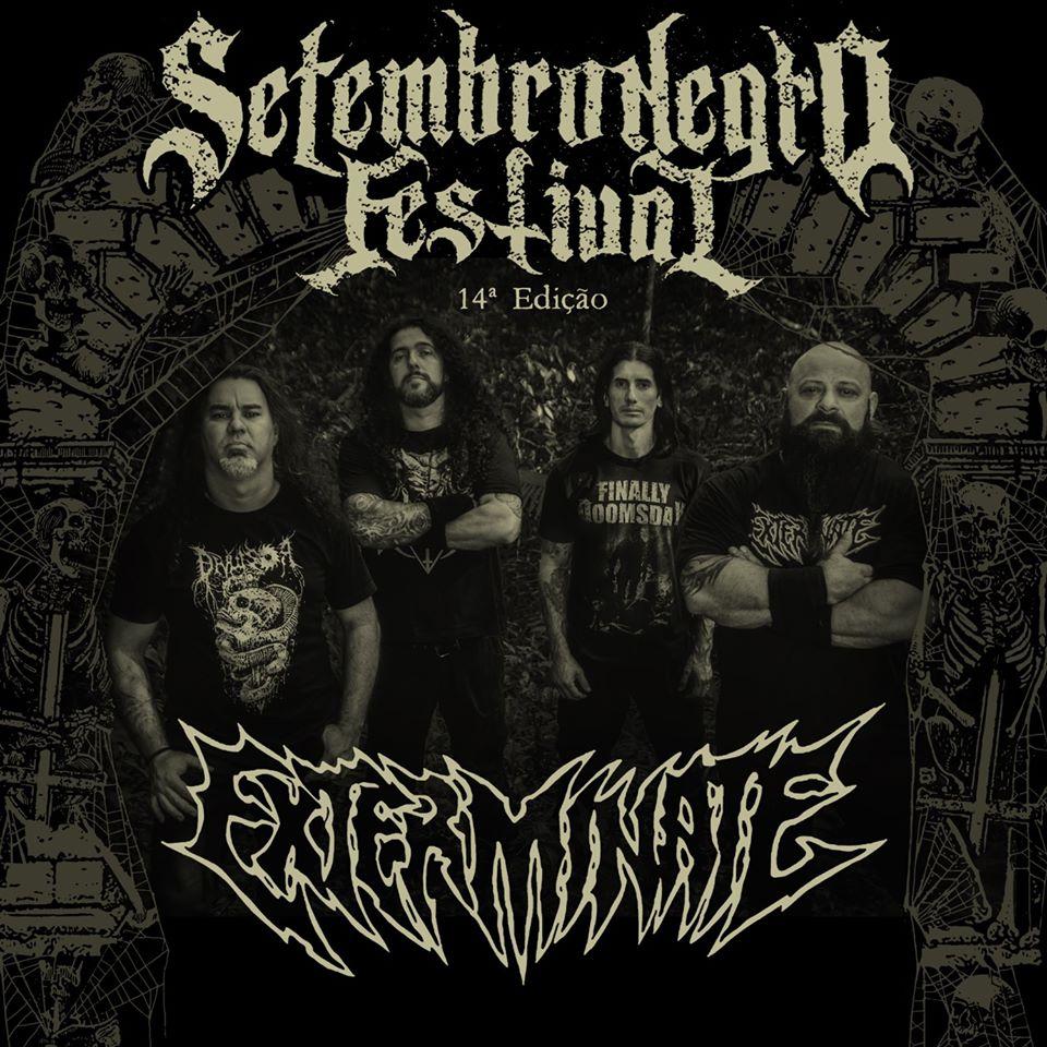 Read more about the article Exterminate: Gaúchos trazem seu Brutal Death Metal ao Setembro Negro 2020
