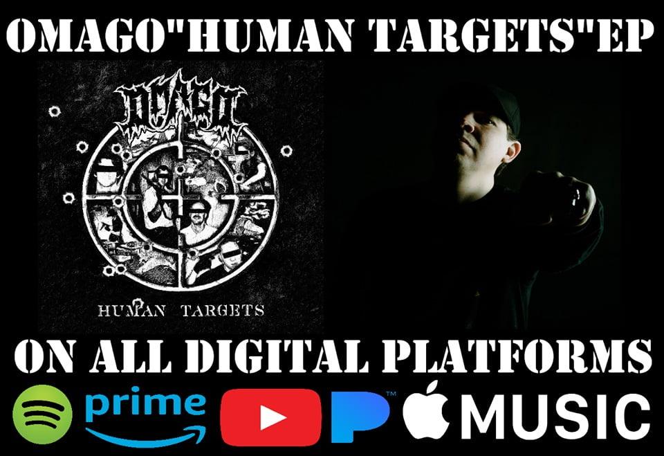 "Omago: EP ""Human Targets"" disponível nas plataformas digitais"