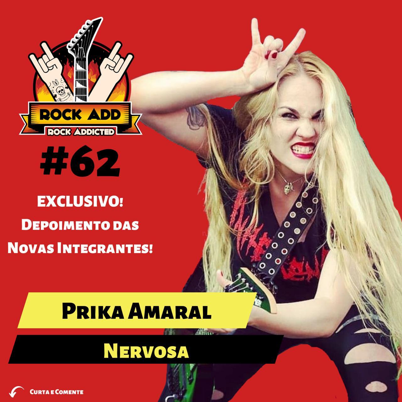 Prika Amaral conta tudo sobre os novos passos da Nervosa no novo episódio do Rock Add