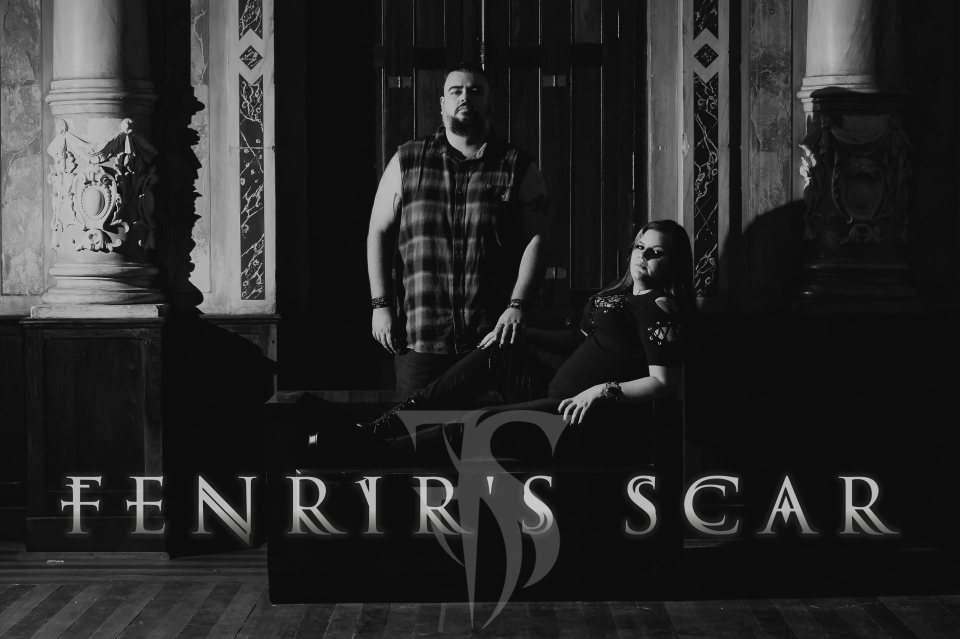 "Fenrir's Scar abordando a mitologia nórdica no lyric video de ""Fearless Heart"""