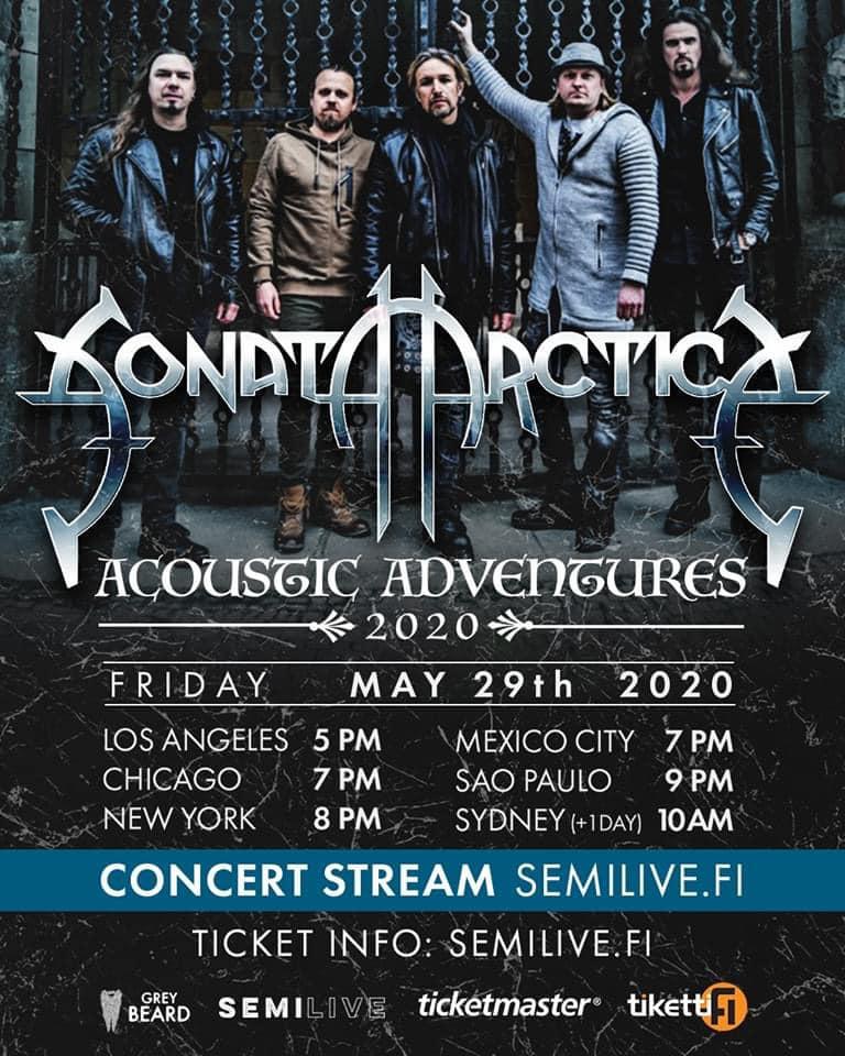 sonata arctica acoustic live