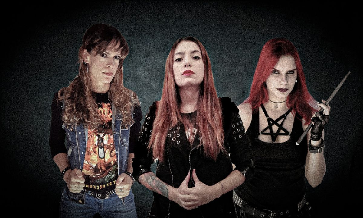 "Power trio feminino,The Damnnation, lança single ""Apocalypse"""