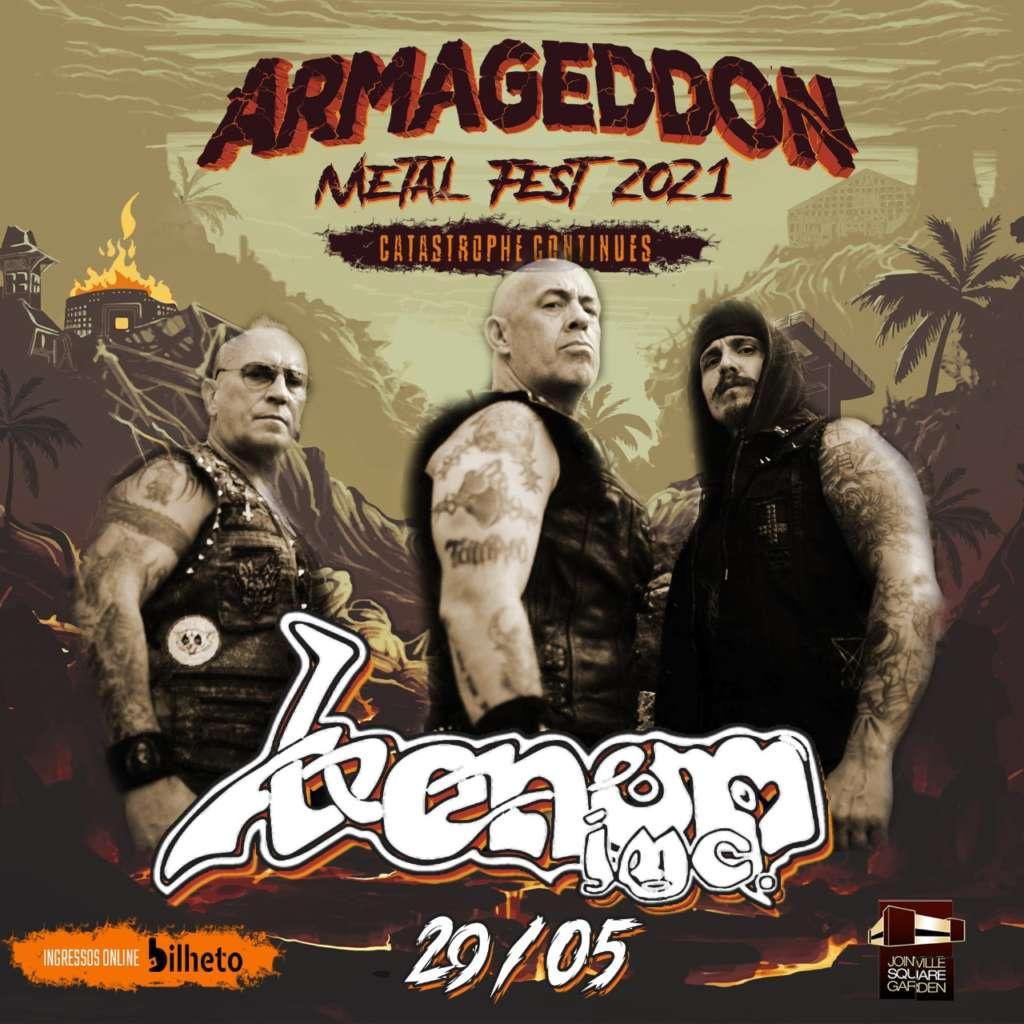 flyer-Armageddon Metal Fest 2021