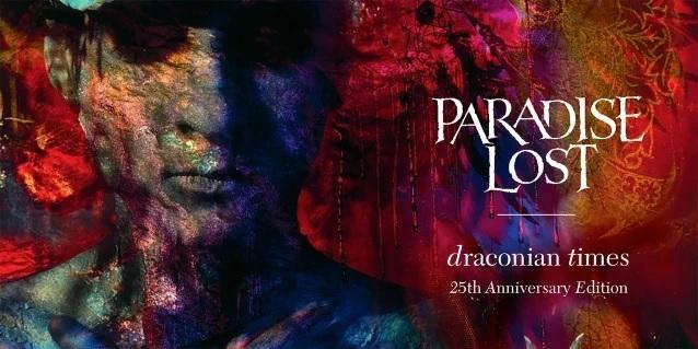 """Paradise Lost: relançamento do 25º aniversário de """"Draconian Times"""""""