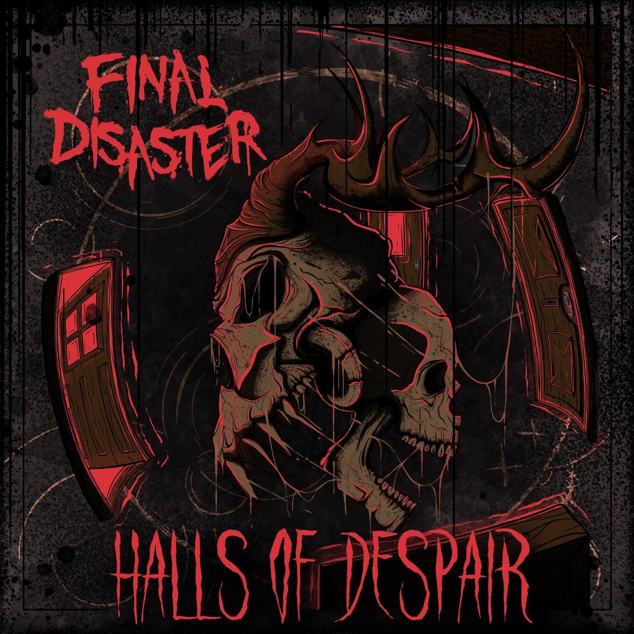 "Final Disaster divulga a capa de seu primeiro full lenght, ""Halls Of Despair"""