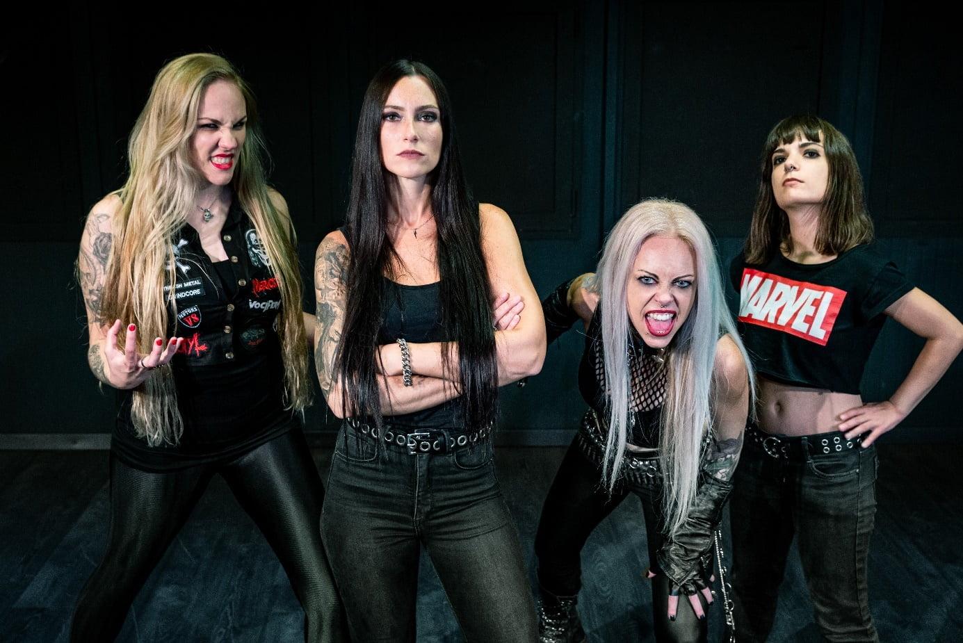 """Nervosa: Assista o vídeoclipe de """"Guided By Evil"""" e veja as informações do novo álbum."""