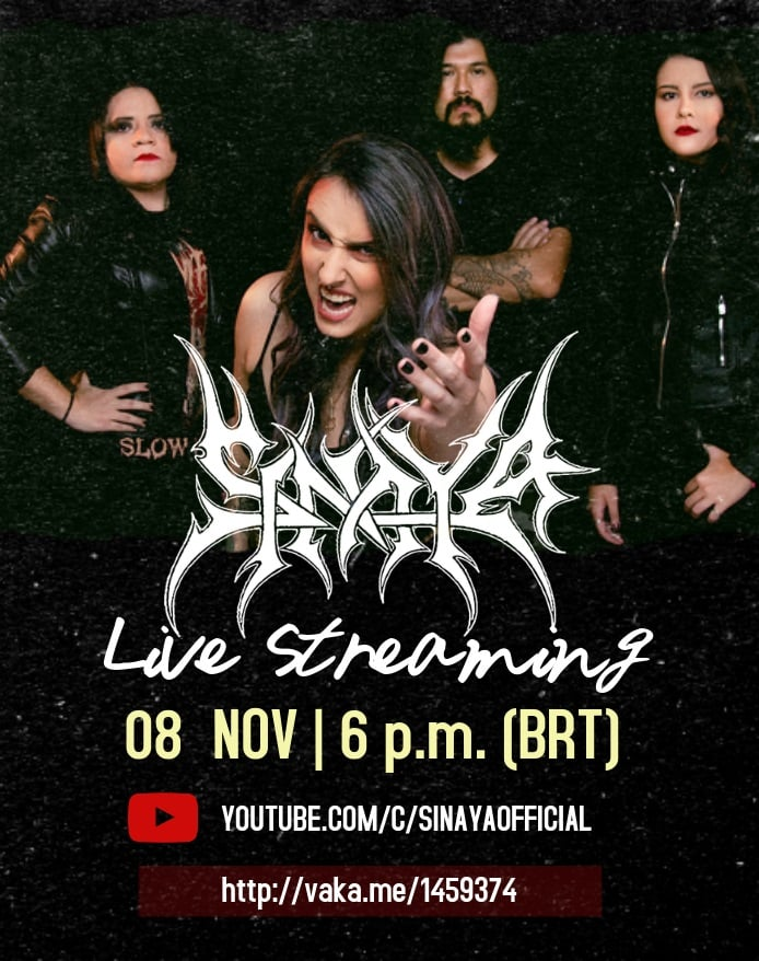 Sinaya fará show online especial de 10 anos no dia 08 de novembro