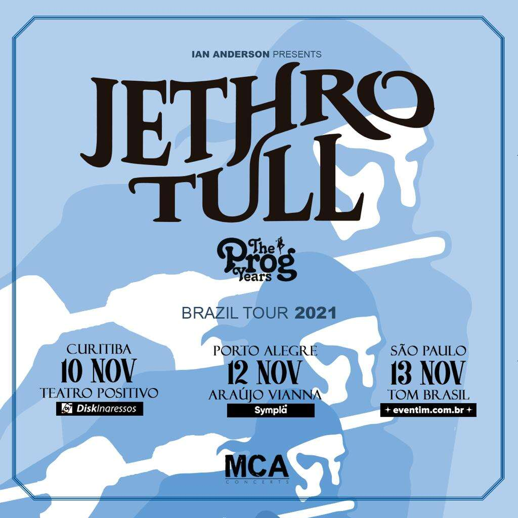 Jethro Tull flyer