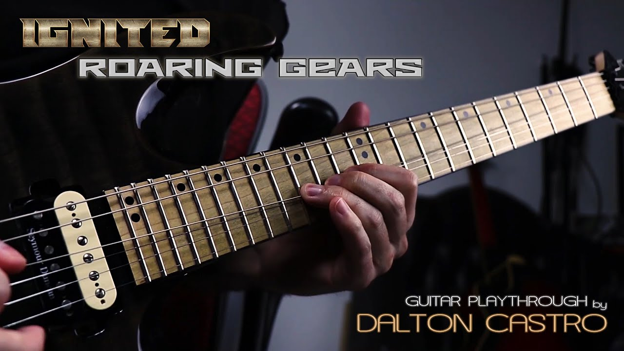 "Ignited: guitarrista grava playthrough para ""Roaring Gears"""