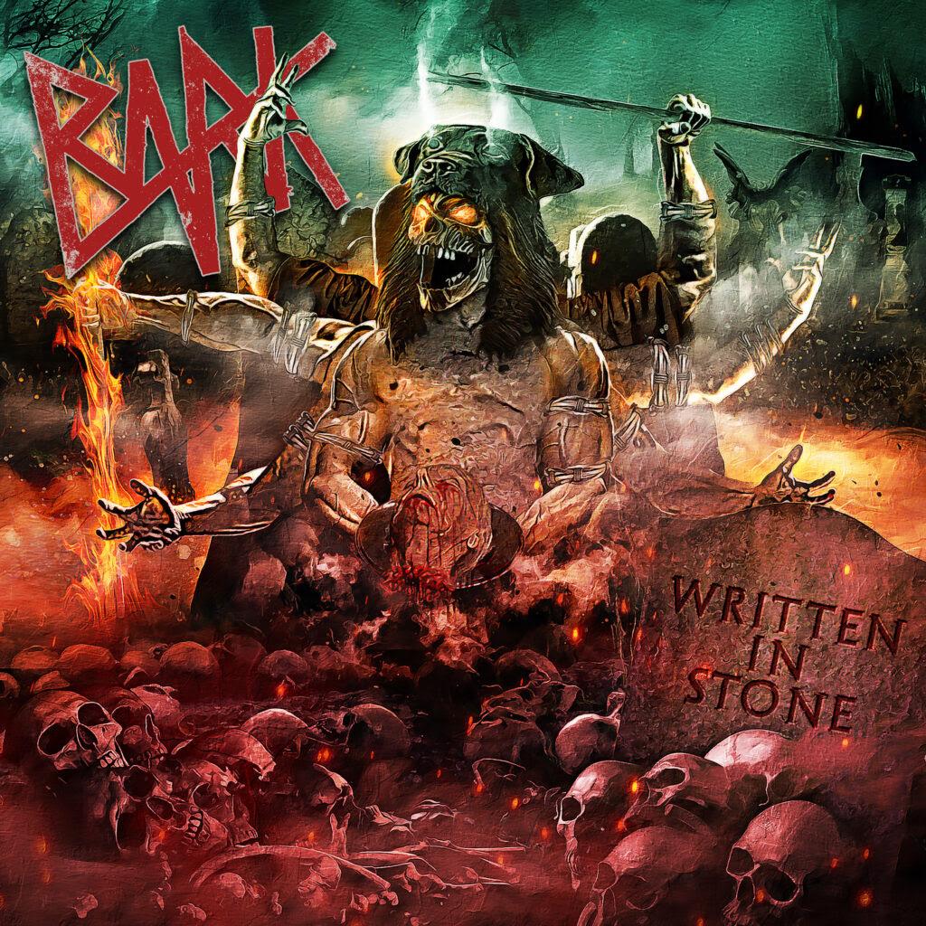 Capa do álbum Written in Stone