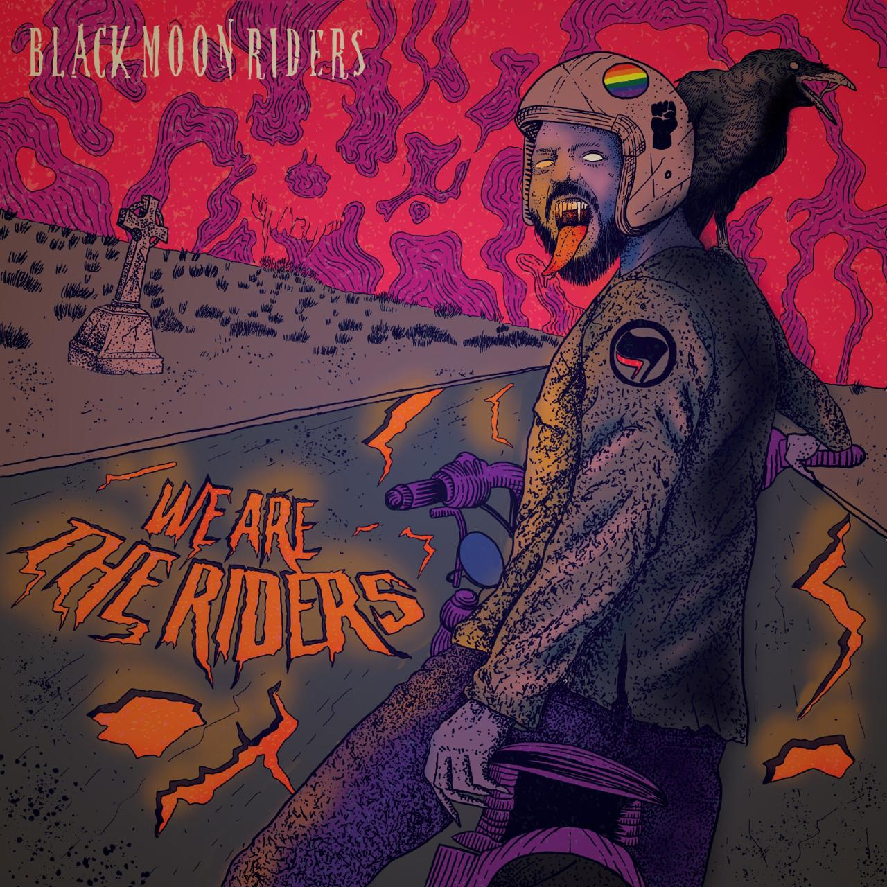 """Read more about the article Black Moon Riders: Novas influências no single """"We Are The Riders"""""""