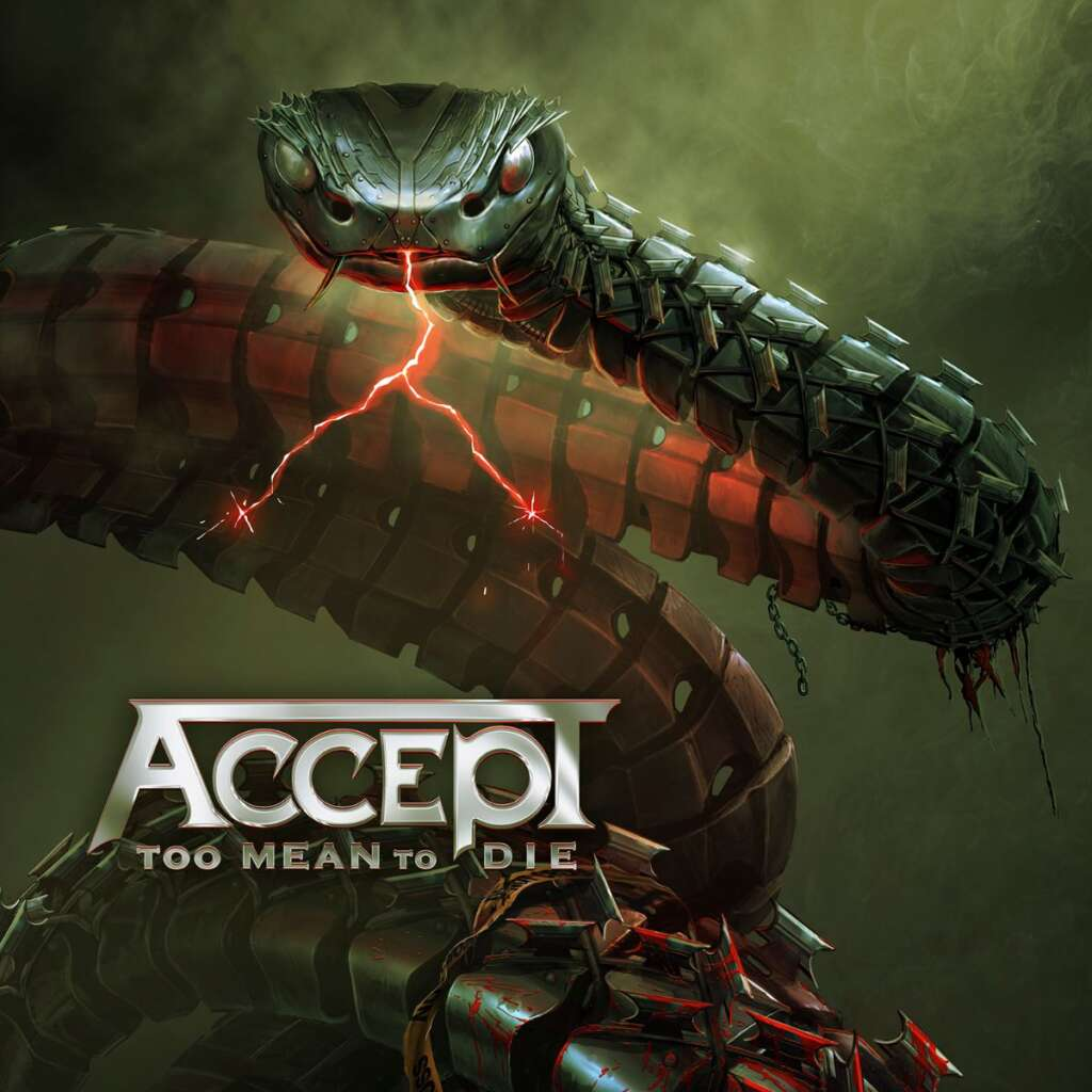 Capa do álbum Too Mean To Die do Accept