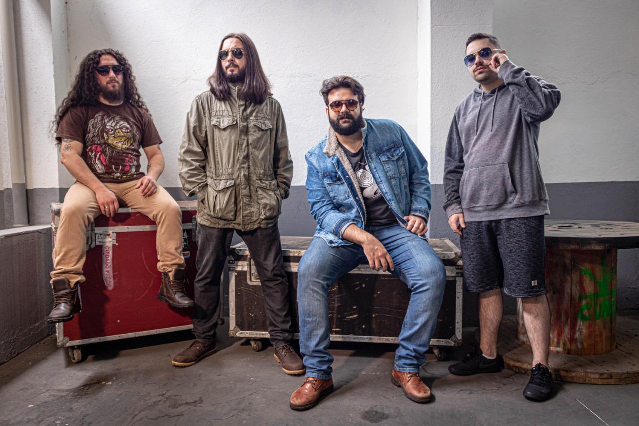 """Buffalo Ruffus: banda apresenta capa oficial de novo álbum de estúdio """"A Ilusão da Segurança"""""""
