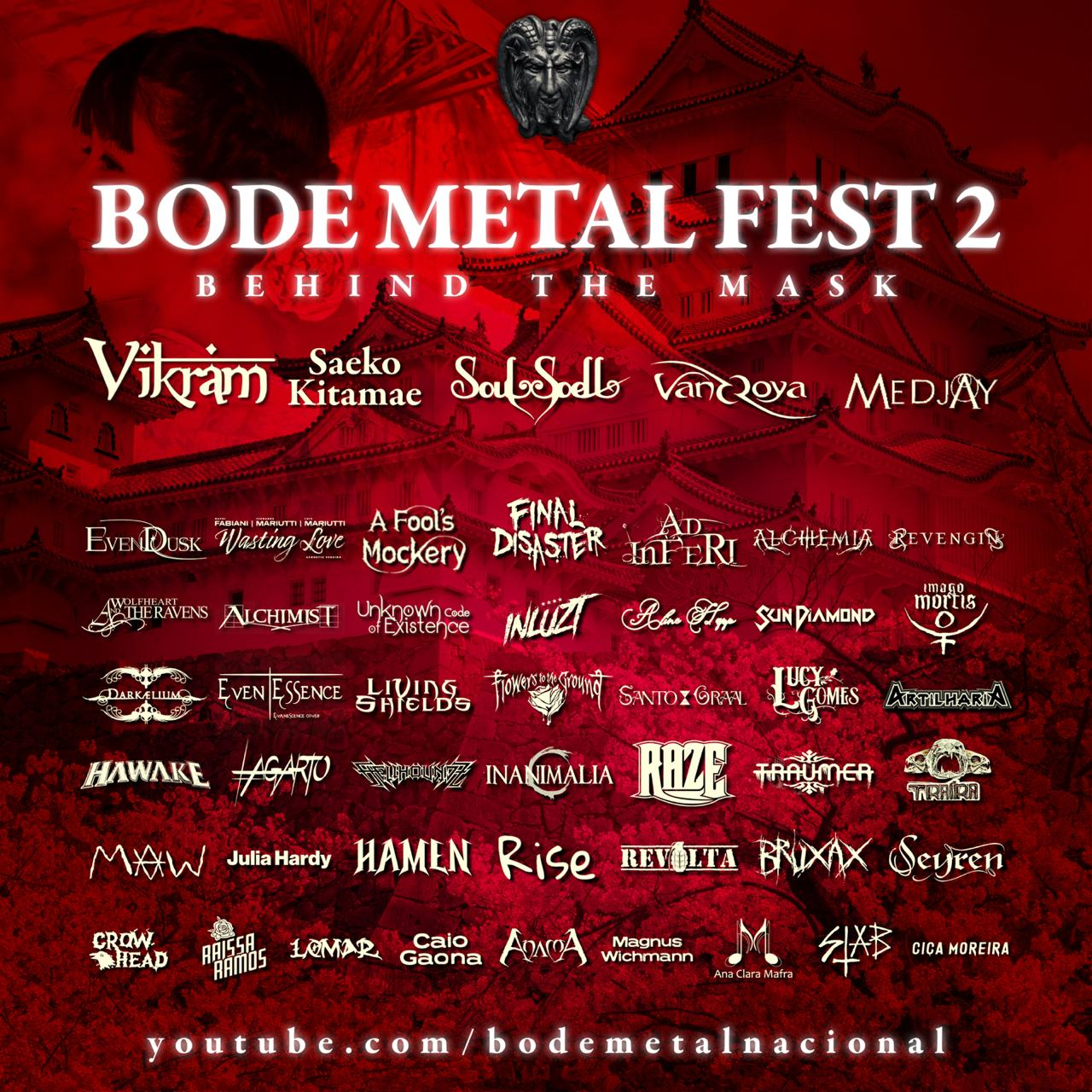 Bode Metal Fest II – Behind The Mask