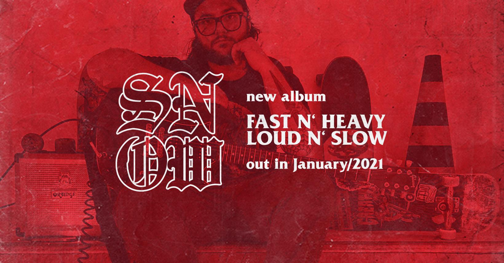 SNOW lança álbum de estreia pela Decibel Magazine (EUA)