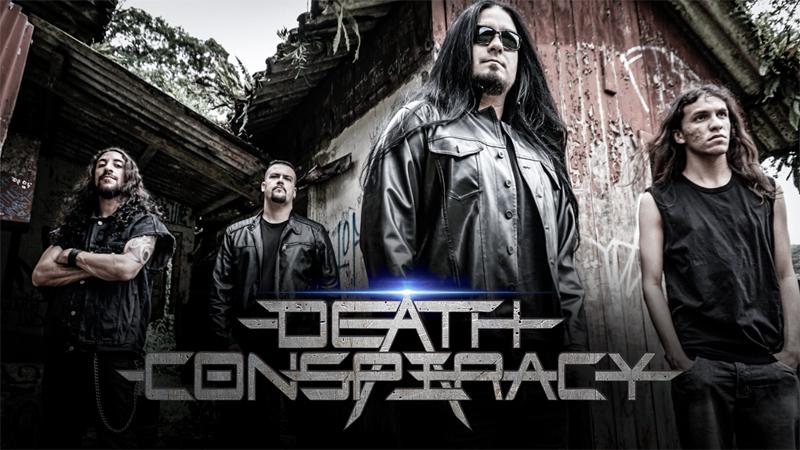 """Death Conspiracy lança """"playthrough"""" de guitarra para """"Living To Explain"""""""