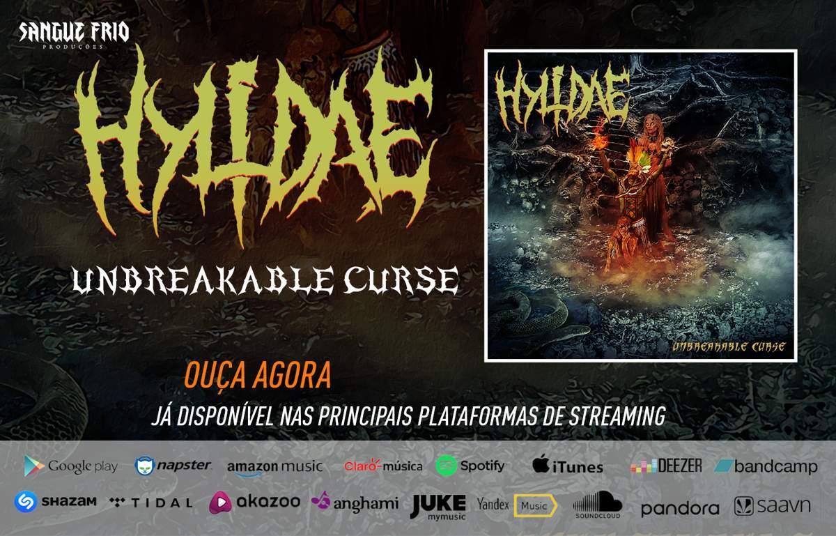 """Hylidae: """"Unbreakable Curse"""" é lançado nas principais plataformas de streaming, ouça agora!"""