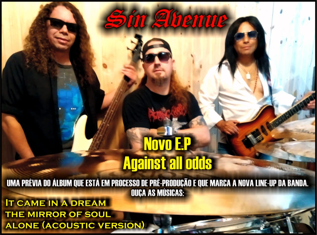 """Read more about the article Sin Avenue lança novo EP """"Against all odds"""""""