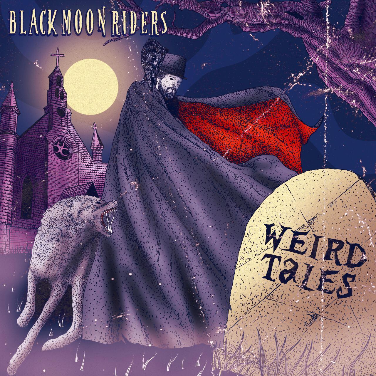 Read more about the article Black Moon Riders reúne contos sinistros no primeiro álbum