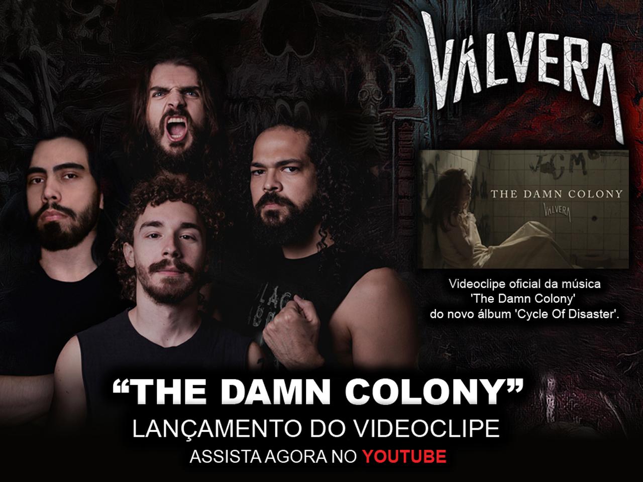 Válvera lança novo videoclipe! Assista agora!