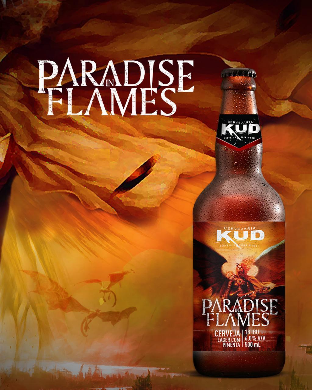Paradise In Flames: confira a nova cerveja da banda