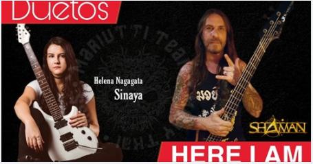 """Sinaya: Helena Nagagata toca """"Here I Am"""" em jam com Luís Mariutti"""
