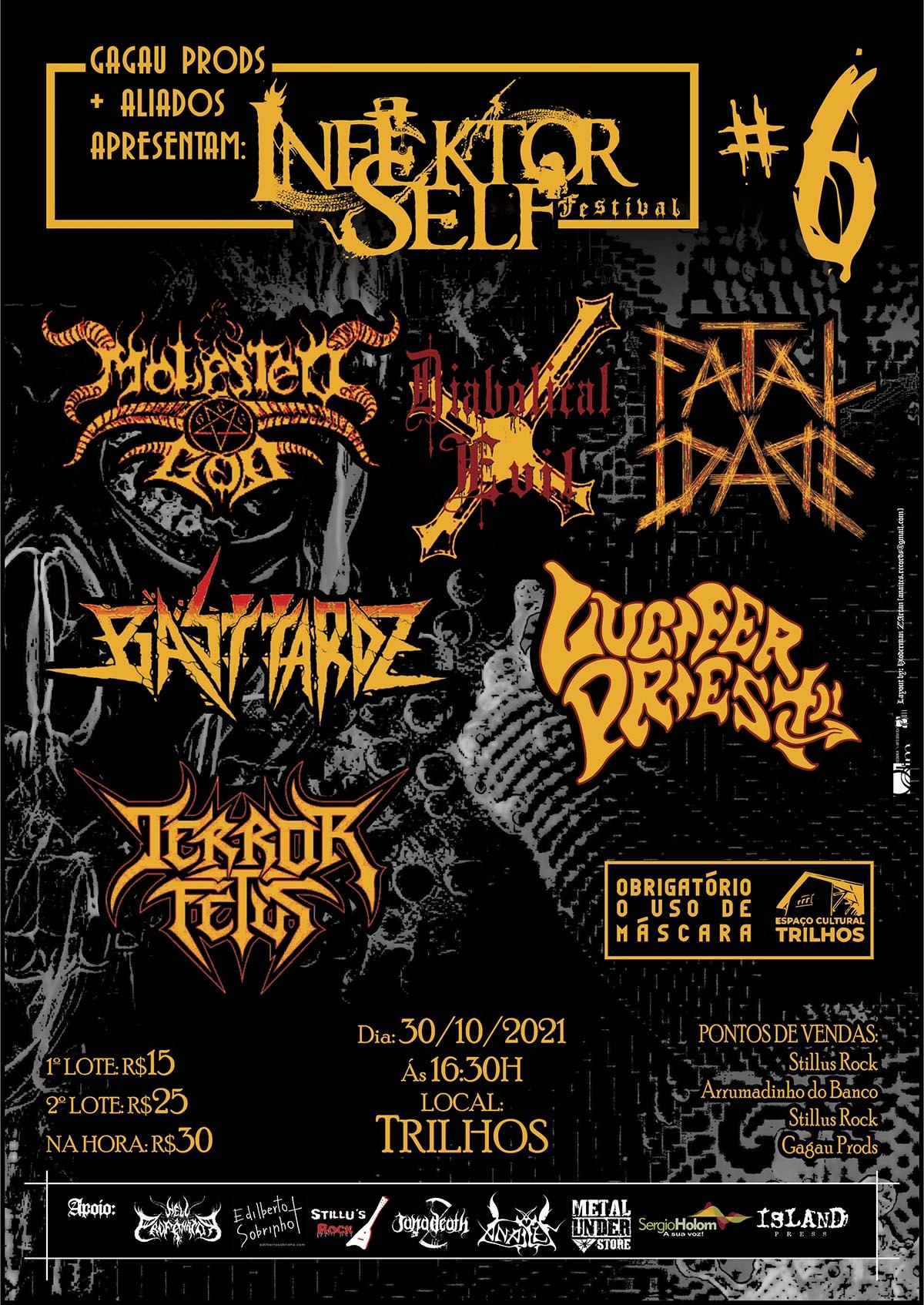 """INFEKTOR SELF FESTIVAL: Mais que um evento de metal, o significado de """"underground"""" encontra seu sentido amplo"""