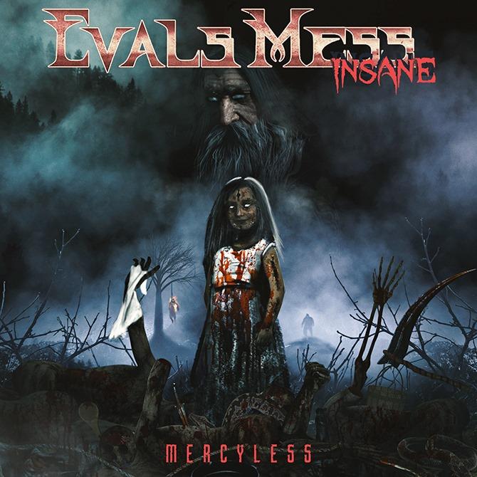 EVALS MESS INSANE divulga detalhes de seu primeiro álbum