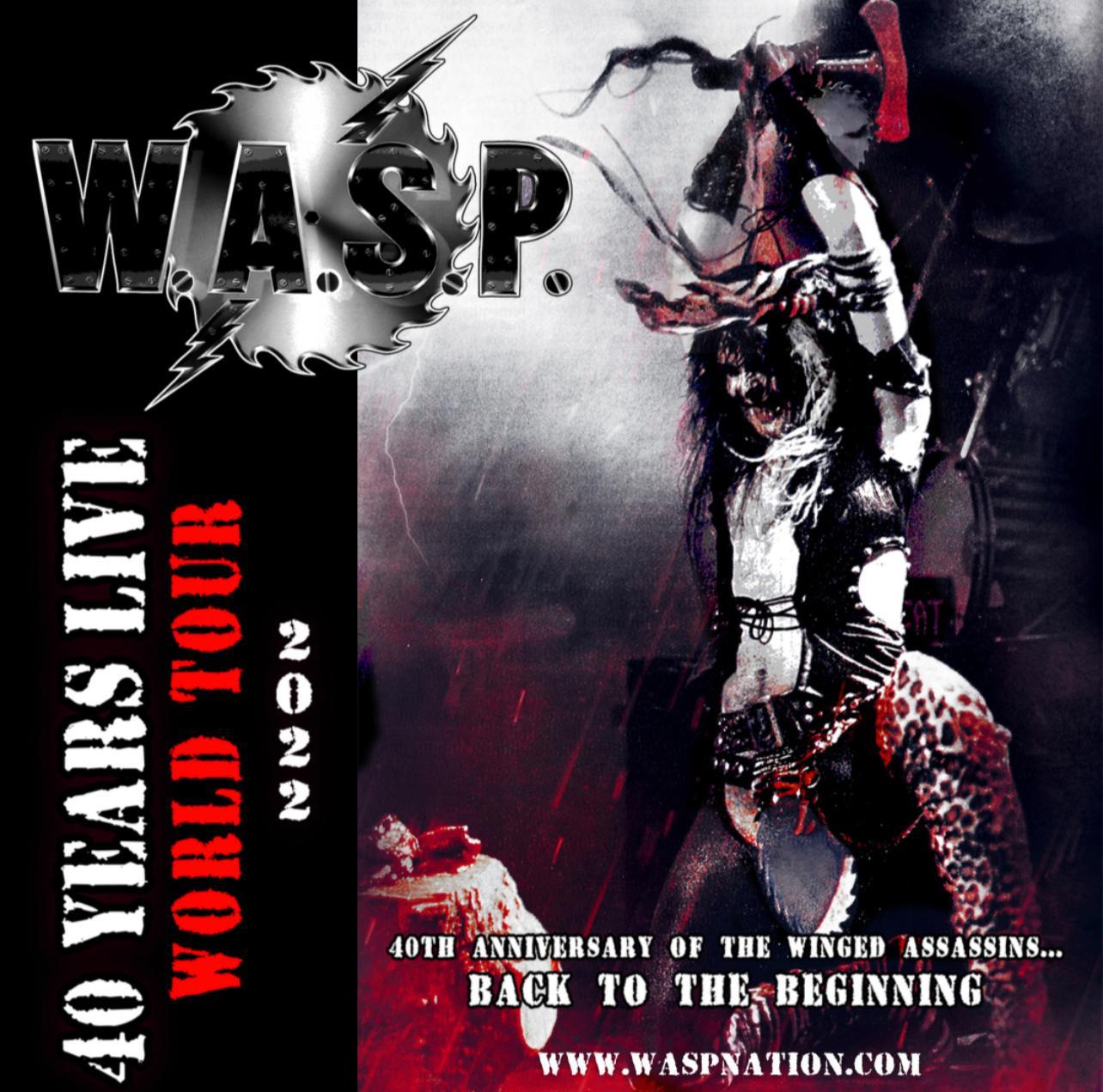 Read more about the article W.A.S.P. anuncia turnê de 40 anos em 2022 com Aquiles Priester na bateria